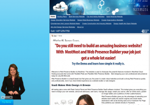 Web Presence Builder Helps You Build Websites From Scratch
