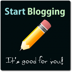Start Blogging Today!